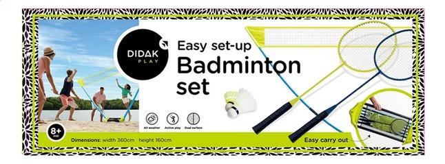 Afbeelding van Badmintonset Easy set-up from DreamLand
