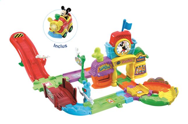 Vtech Tut Tut Bolides Le Circuit Train Interactif De Mickey