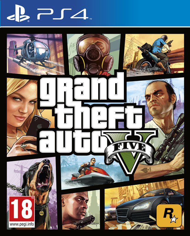 Afbeelding van PS4 Grand Theft Auto V FR from DreamLand