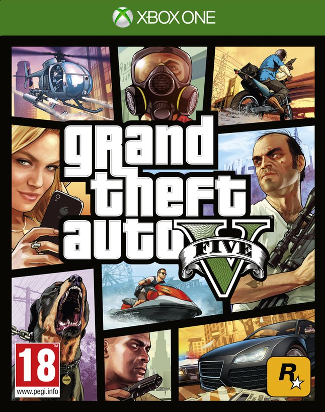 Afbeelding van XBOX One Grand Theft Auto V ENG from DreamLand