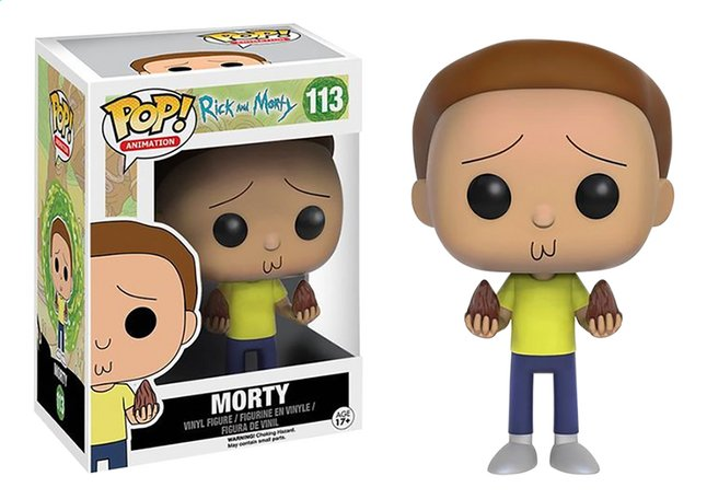 Funko Pop! figurine Rick and Morty - Morty