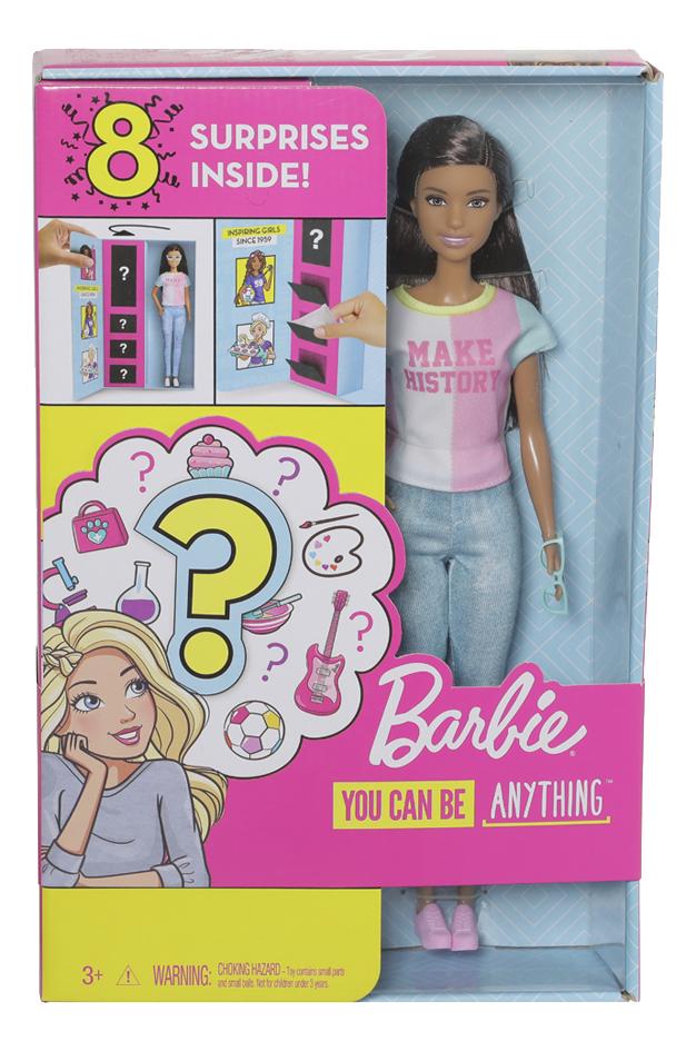 Barbie mannequinpop Careers Surprise - Make History