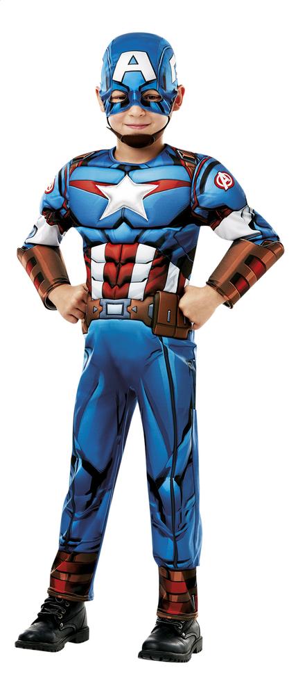 Afbeelding van Verkleedpak Captain America Deluxe from DreamLand