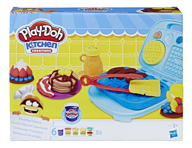 Afbeelding van Play-Doh Kitchen Creations Ontbijtset from DreamLand