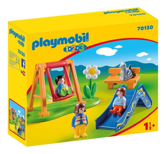 PLAYMOBIL 1.2.3 70130 Parc de jeux