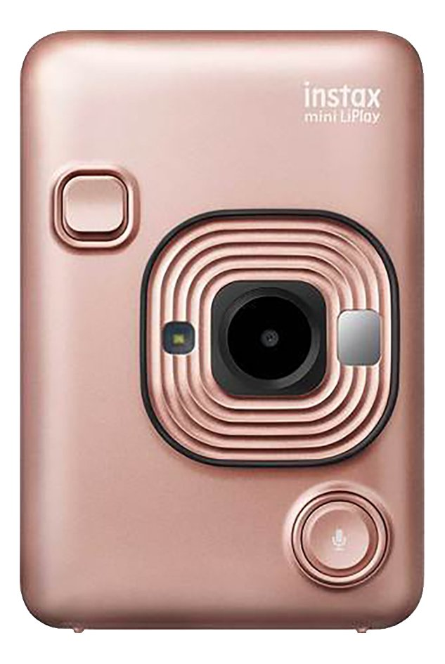 Fujifilm appareil photo instax mini LiPlay Blush Gold