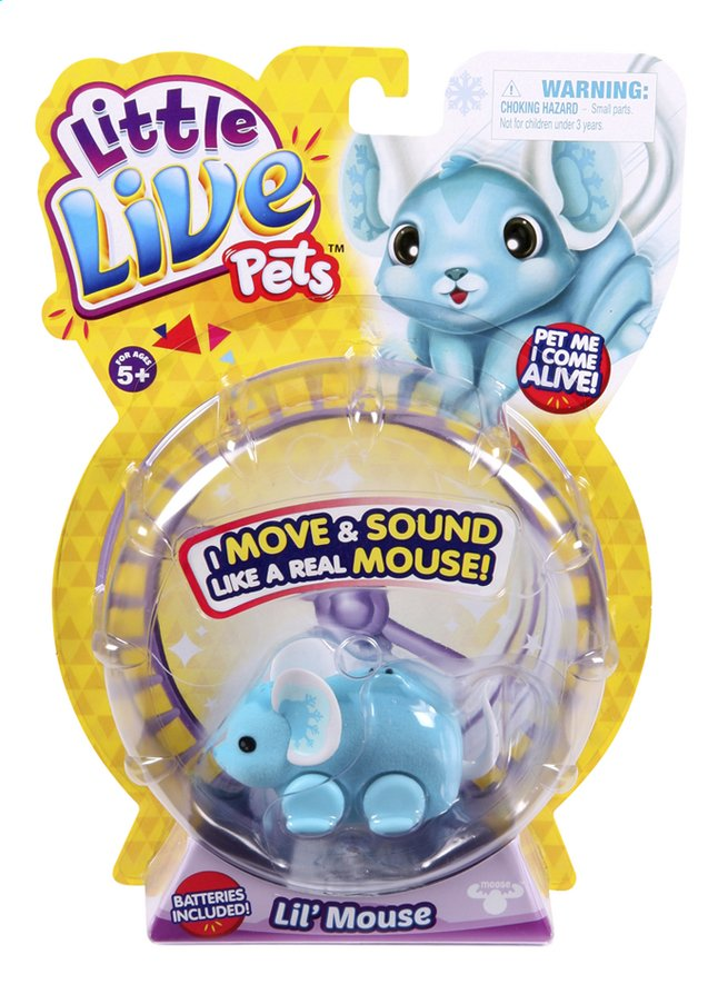 Afbeelding van Robot Little Live Pets Lil' Mouse Chatter from DreamLand