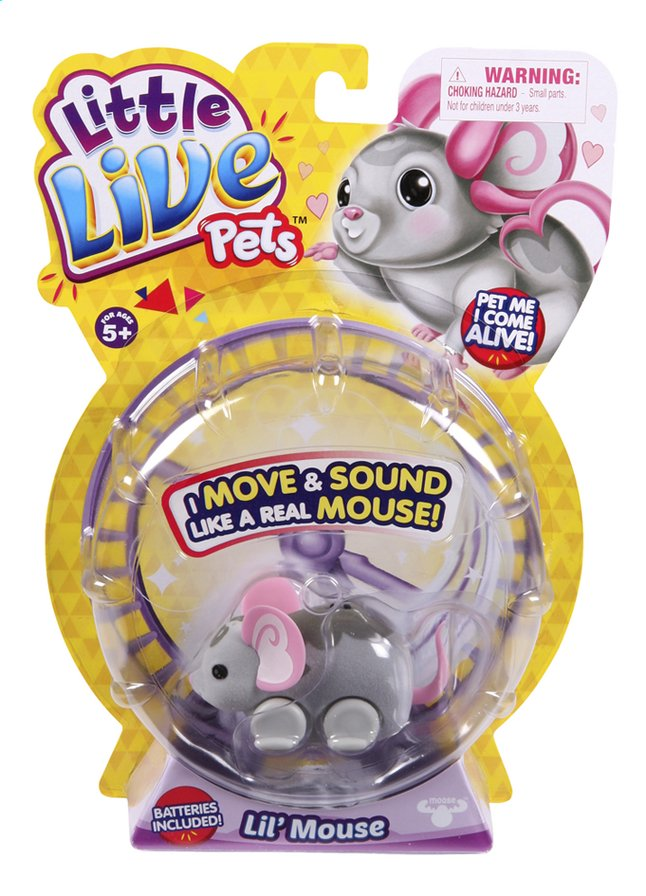 Afbeelding van Robot Little Live Pets Lil' Mouse Smooch from DreamLand