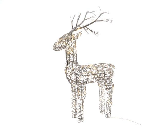 Afbeelding van Dier met ledverlichting hert warm wit H 83 cm from DreamLand