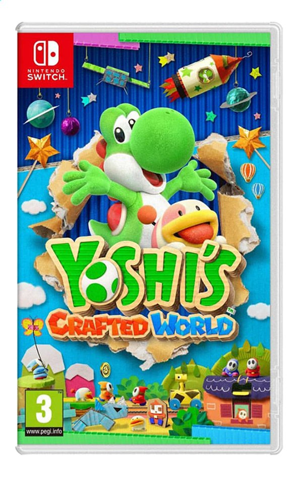 Afbeelding van Nintendo Switch Yoshi's Crafted World ENG from DreamLand