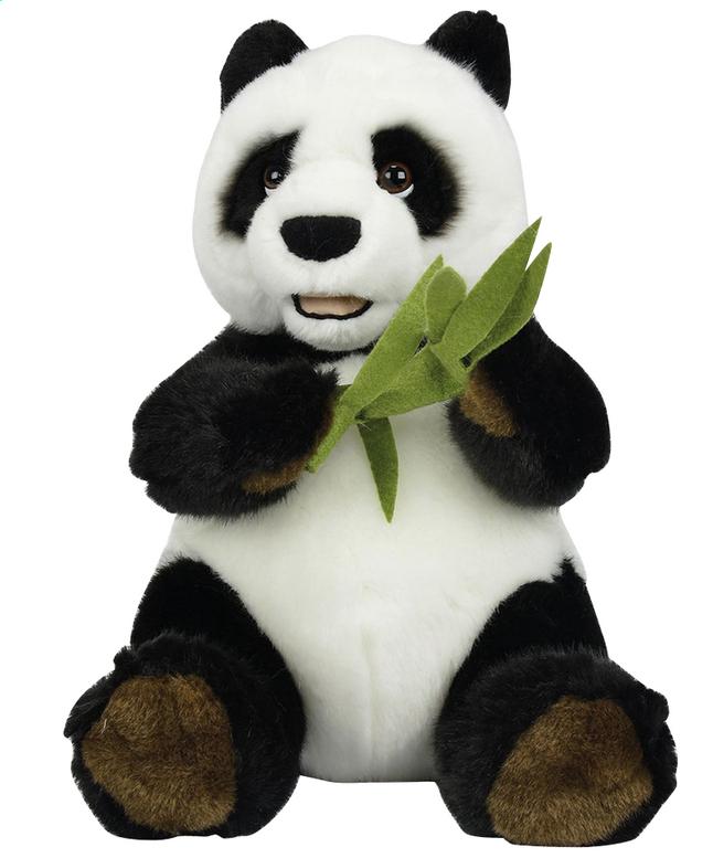 Afbeelding van Knuffel Panda met bamboe 25 cm from DreamLand