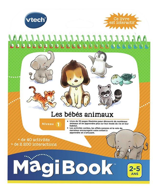 Vtech Magibook Livre Educatif Niv 1 Les Bebes Animaux