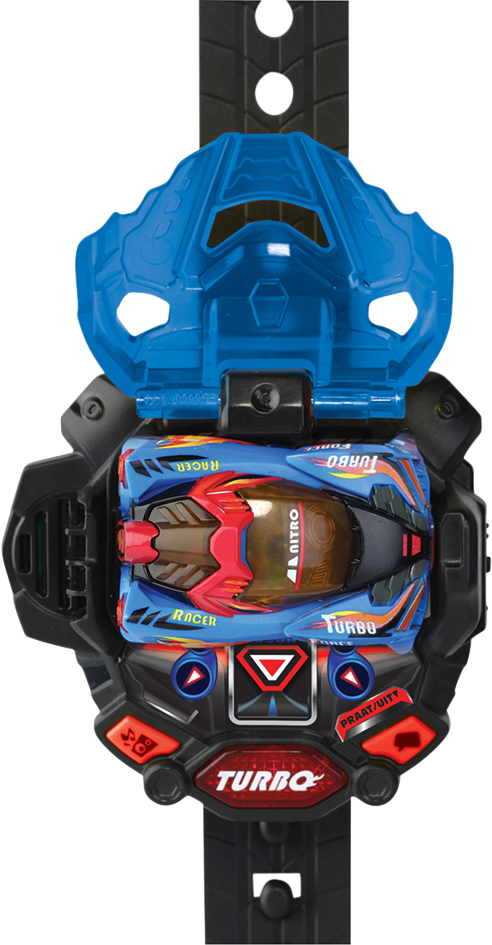 VTech auto Turbo Force Blue Racer
