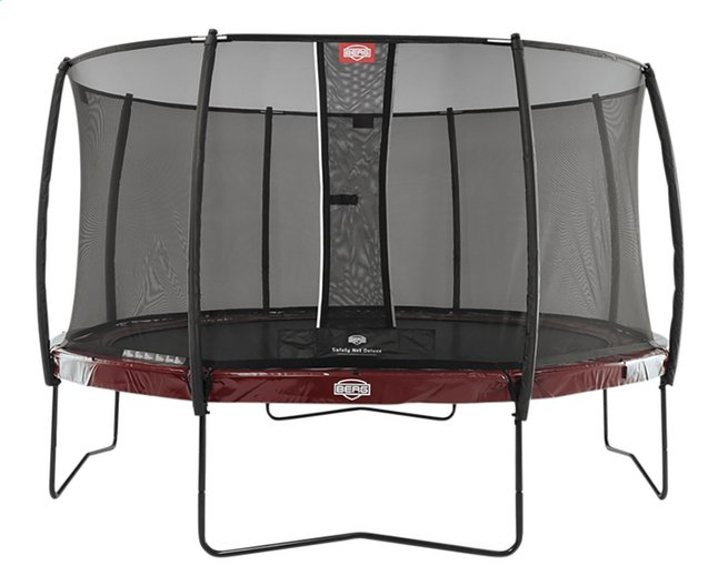 Afbeelding van Berg trampolineset Elite Ø 4,30 m Red from DreamLand