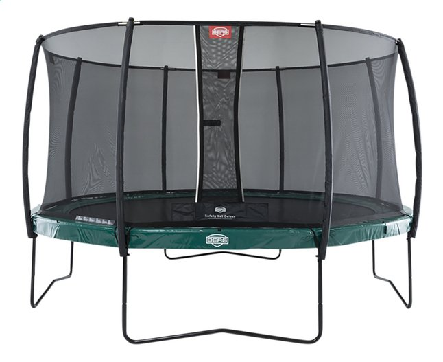 Afbeelding van Berg trampolineset Elite Ø 4,30 m Green from DreamLand