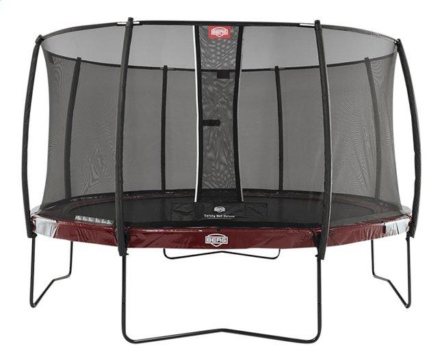 Berg trampolineset Elite Ø 3,80 m Red