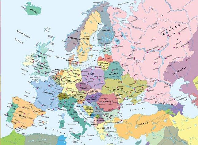 Afbeelding van Ravensburger puzzel Kaart Europa from DreamLand