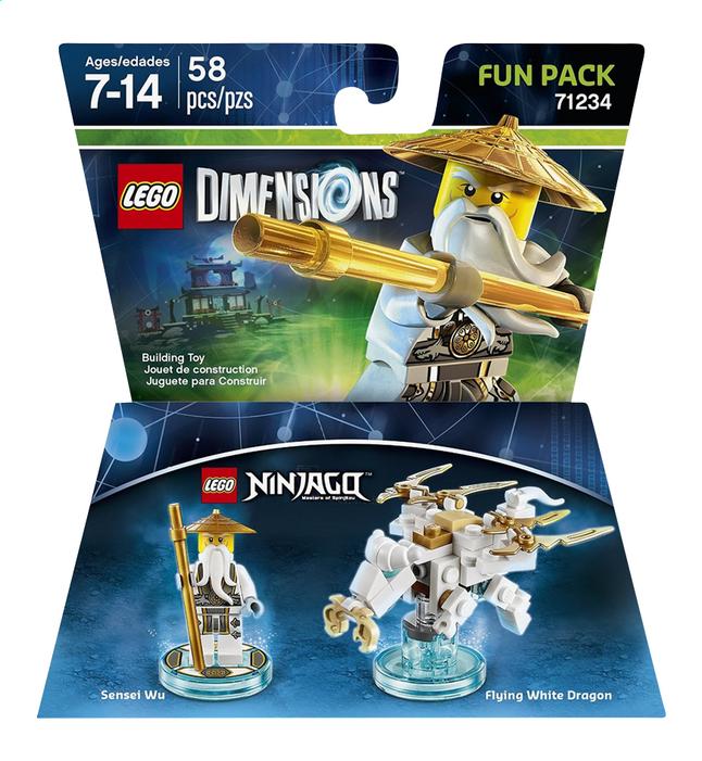 Afbeelding van LEGO Dimensions figuur Fun Pack Ninjago 71234 Sensei Wu from DreamLand