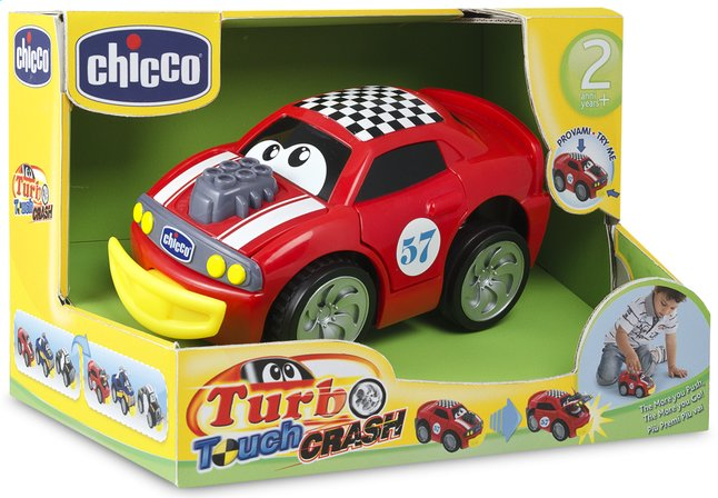 Afbeelding van Chicco autootje Turbo Touch Crash rood from DreamLand