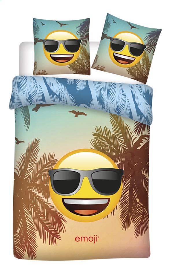 Afbeelding van Dekbedovertrek Emoji katoen B 140 x L 200 cm from DreamLand