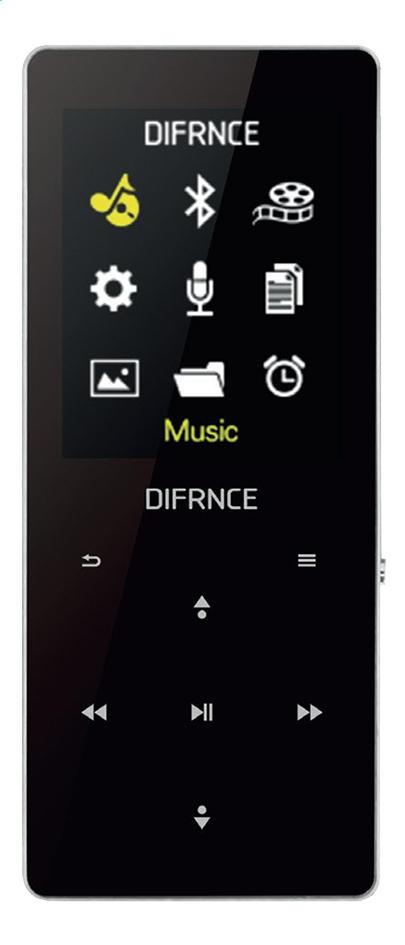 Image pour Difrnce lecteur MP4 Bluetooth MP1819BT 8 Go à partir de DreamLand
