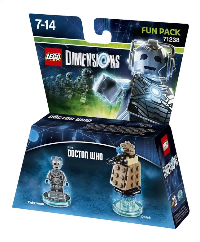 Image pour LEGO Dimensions figurine Fun Pack Doctor Who 71238 Cyberman à partir de DreamLand