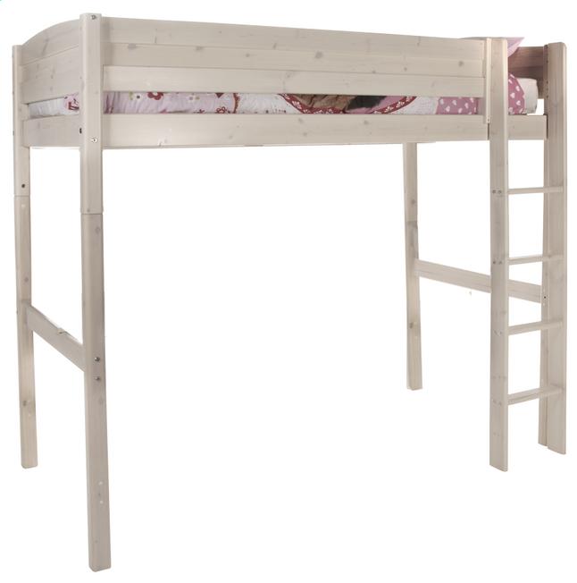 lit mezzanine avec chelle droite trendy dreamland. Black Bedroom Furniture Sets. Home Design Ideas