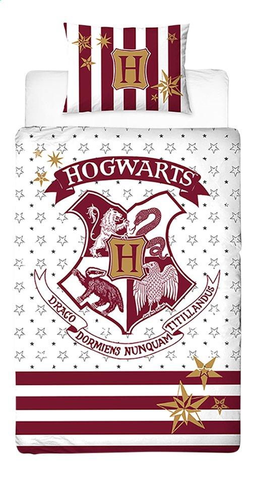 Housse De Couette Harry Potter Coton Lg 140 X L 200 Cm Dreamland