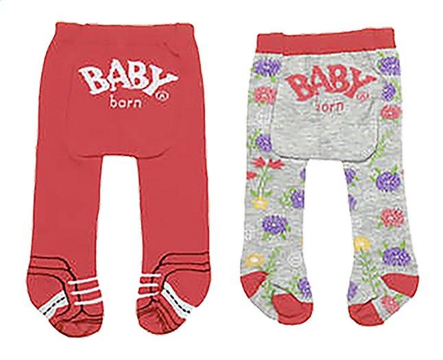 BABY born 2 broekkousen rood