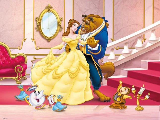 Afbeelding van Ravensburger puzzel Belle en het Beest from DreamLand