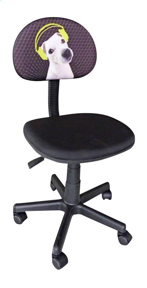Image pour Chaise de bureau pour enfants Doggy noir à partir de DreamLand