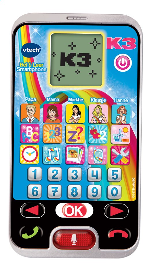 Afbeelding van VTech K3 Bel & Leer Smartphone from DreamLand