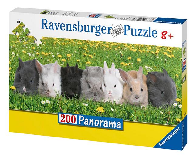 Image pour Ravensburger puzzle La parade des lapins à partir de DreamLand