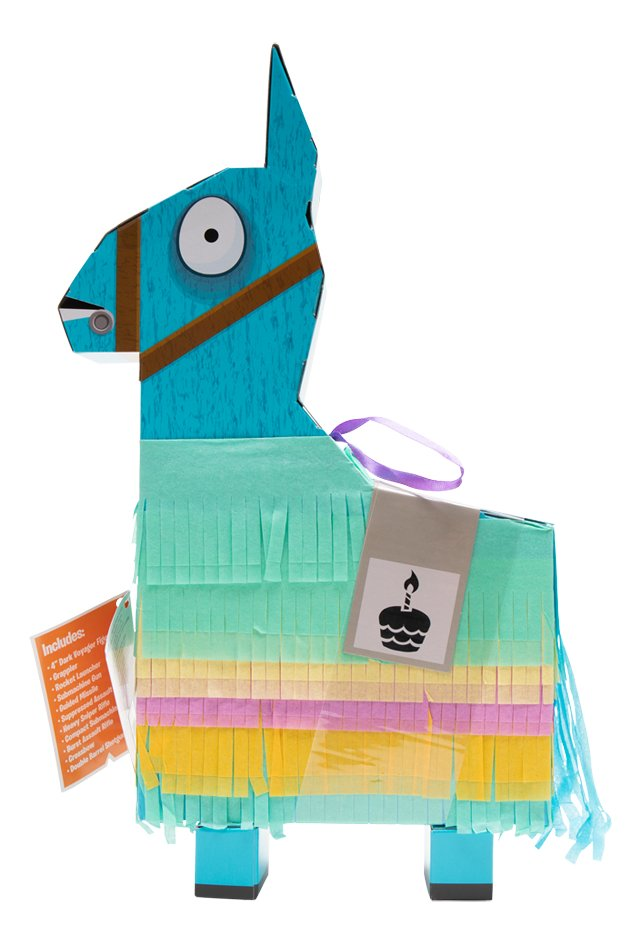 Pinata Fortnite Llama Loot Dark Voyager