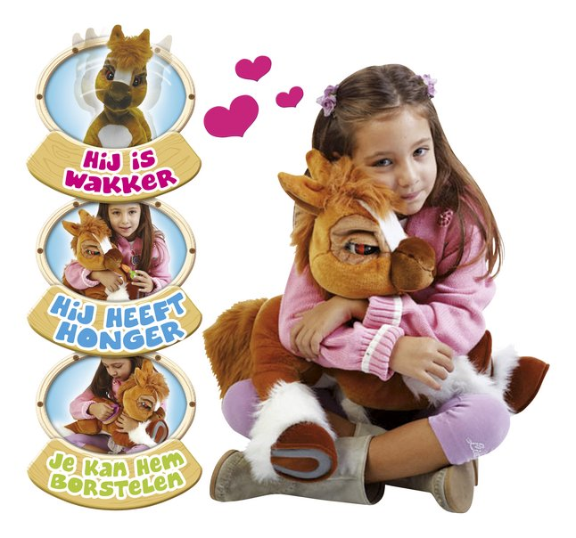 Afbeelding van Emotion Pets interactieve knuffel pony Toffee from DreamLand