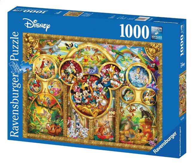 Afbeelding van Ravensburger puzzel Mooiste Disney thema's from DreamLand