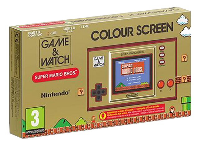 Nintendo Game & Watch Super Mario Bros. ENG