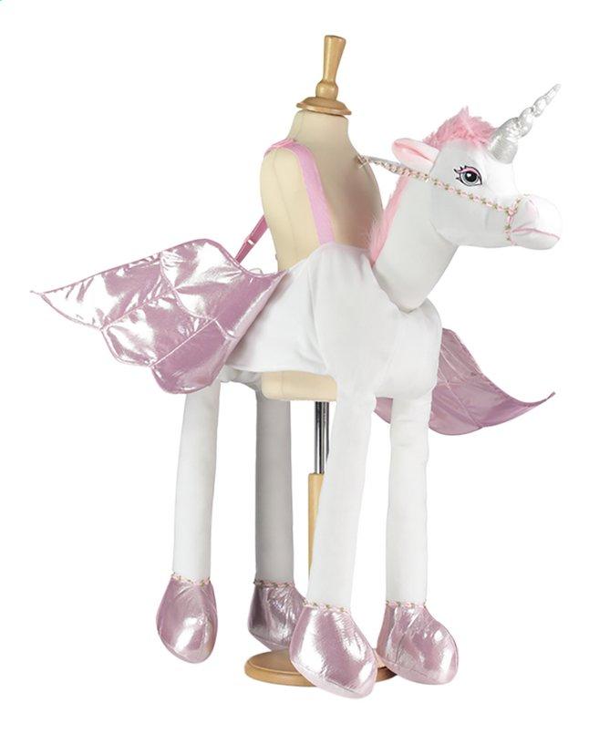Afbeelding van Verkleedpak Travis Ride on Unicorn één maat from DreamLand