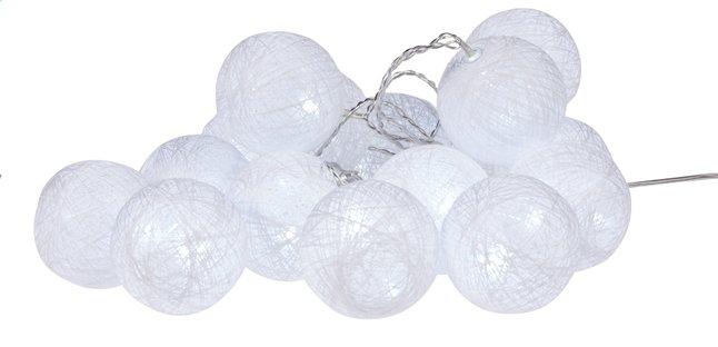 Image pour Guirlande lumineuse LED avec boules de laine L 3 m blanc froid à partir de DreamLand