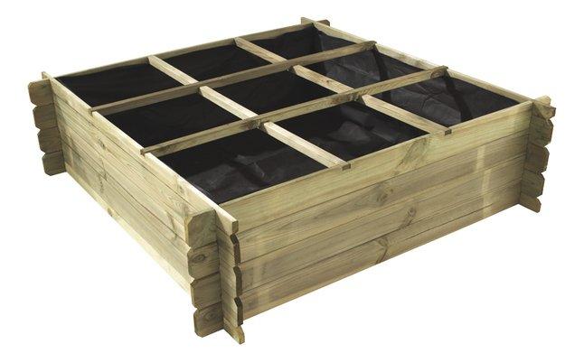 Forest-Style carré potager Basil 140 x 140