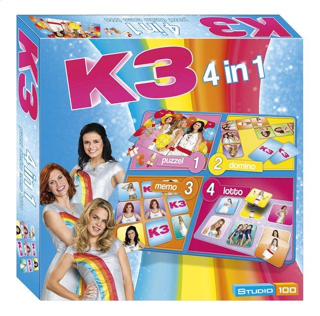 Image pour Boîte de jeu 4 en 1 K3 à partir de DreamLand
