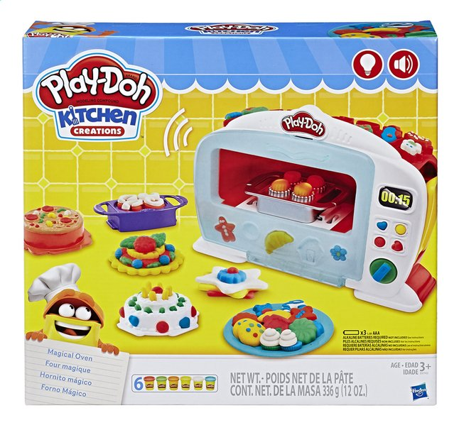 Afbeelding van Play-Doh Kitchen Creations Magische oven from DreamLand