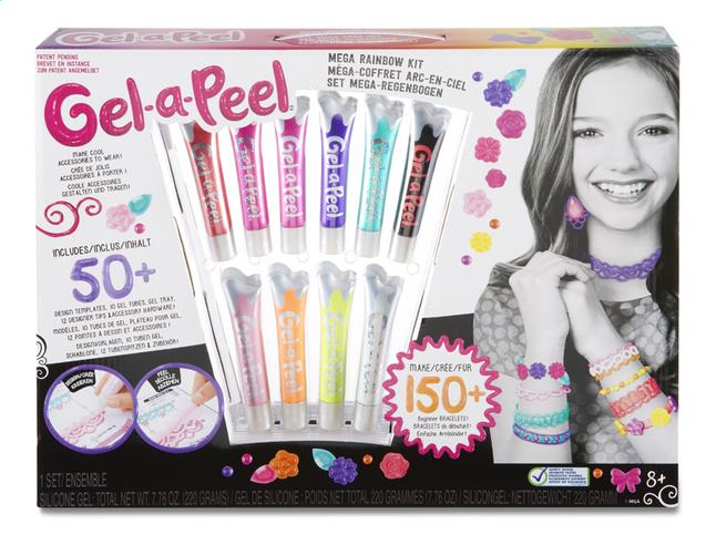 Afbeelding van Gel-a-Peel Mega rainbow kit from DreamLand