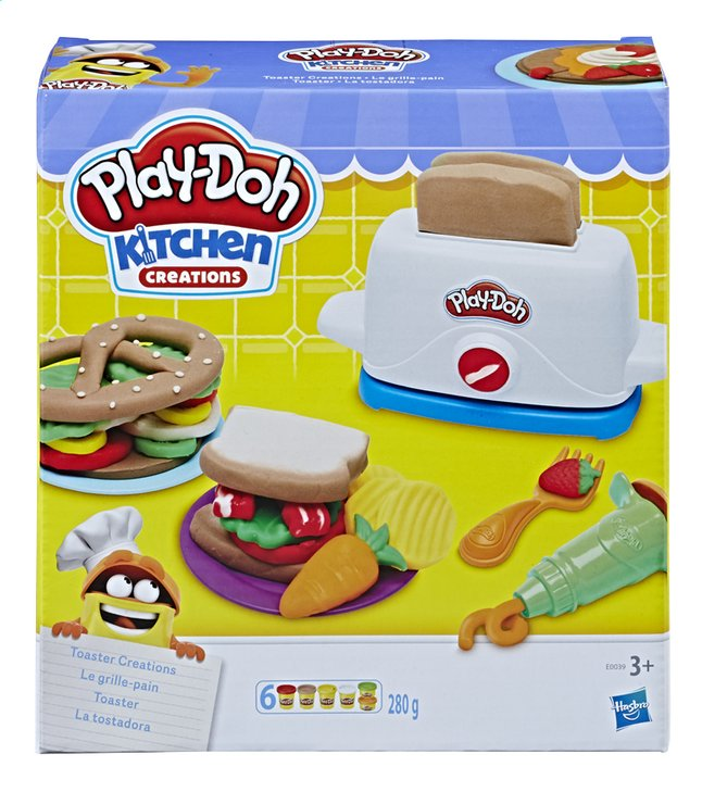 Afbeelding van Play-Doh Kitchen Creations Toaster from DreamLand