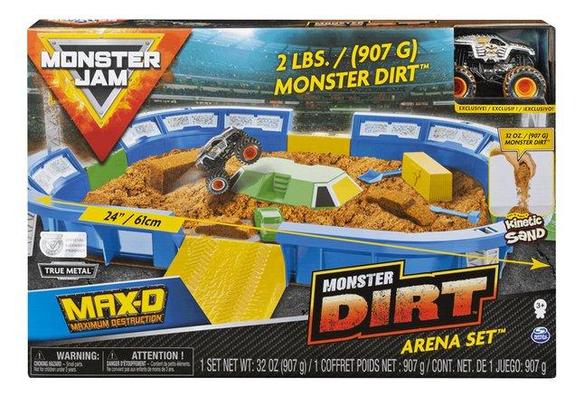 Monster Jam arène Monster Dirt