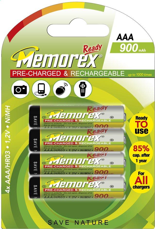 Afbeelding van Memorex 4 AAA-batterijen Ready herlaadbaar from DreamLand