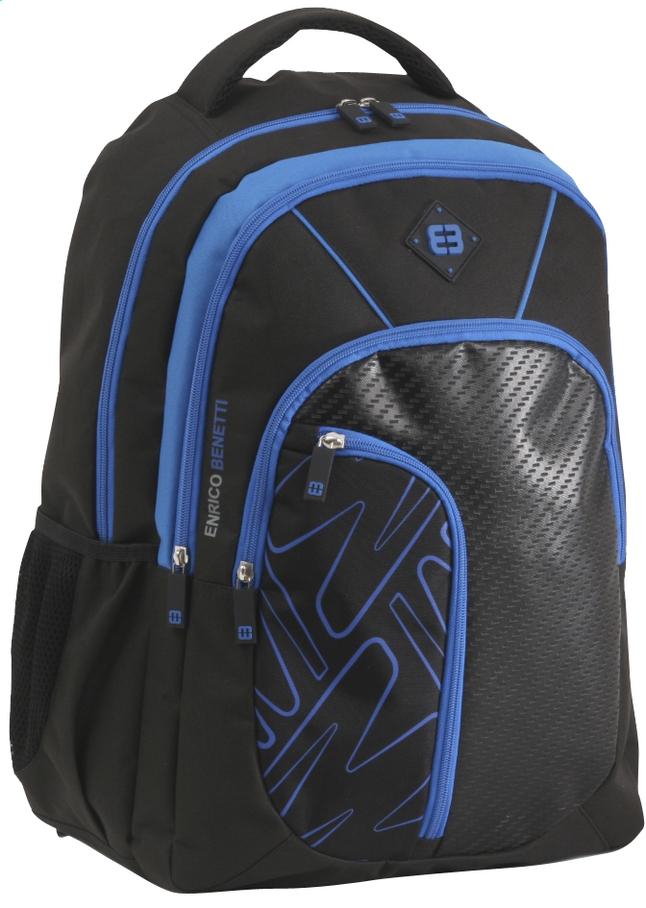 Image pour Enrico Benetti sac à dos School Black/Cobalt à partir de DreamLand