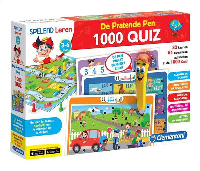 Afbeelding van Spelend leren: De Pratende Pen 1000 quiz from DreamLand