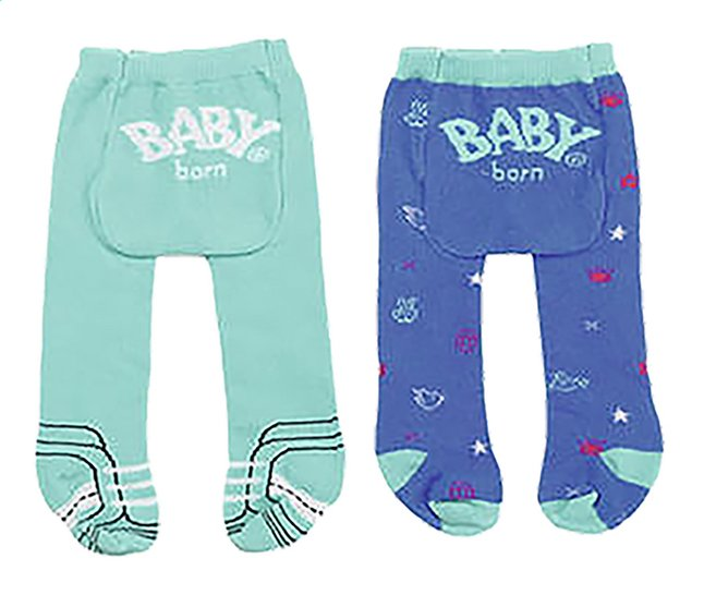 Afbeelding van BABY born 2 broekkousen blauw from DreamLand