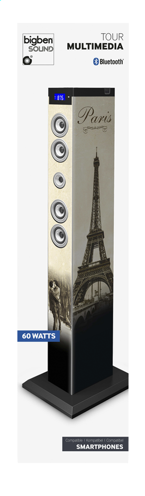 Afbeelding van bigben multimediatoren bluetooth TW9 Paris 2 from DreamLand